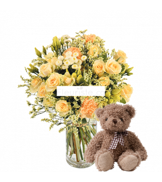 AUREAL BOUQUET AND IT'S BEAR