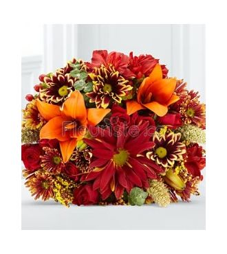 Florist Autumn Bouquet