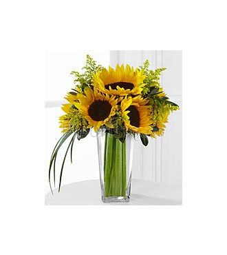 Le bouquet Tournesols Sunshine