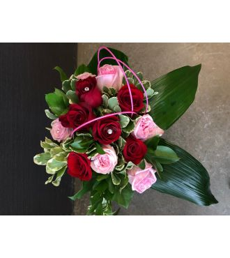 BOUQUET DE ROSES ET DIAMANTS