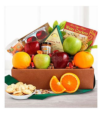 FRESH FRUIT AND GOURMET BOX