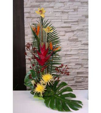 sun burst arrangement