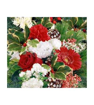 Florist holiday bouquet
