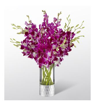 bouquet d'orchidees