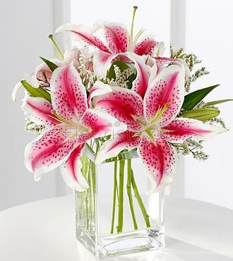 The FTD® Pink Lily Bouquet